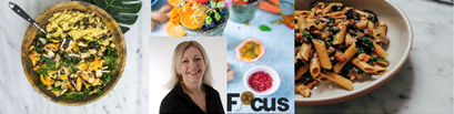 Rachel and focus logo